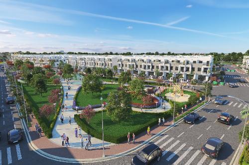 Dự án Viva Park được xây dựng theo mô hình nhà phố liên kế và biệt thự song lập xây sẵn.