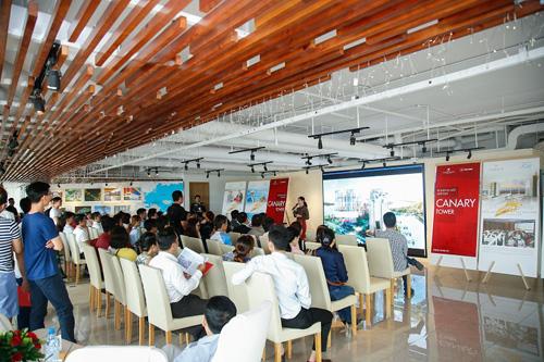 Sự kiện giới thiệu tháp Canary do Rever.vn thực hiện cho các khách hàng VIP của hệ thống vào ngày 11/8 vừa qua.Liên hệ hotline 0901777667 hoặc truy cập websitewww.rever.vn.