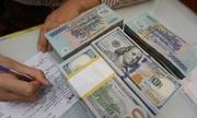 Giá USD ngân hàng lên kịch trần