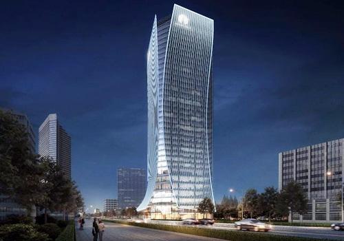 Phối cảnh cao ốc văn phòng hạng A vừa được Alpha King công bố tại TP HCM.