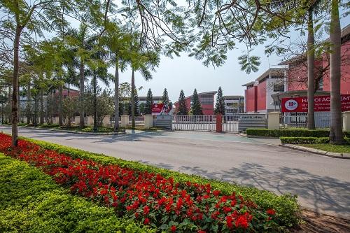 Trường Song ngữ Quốc tế Ha Noi Academy nằm bên trong khuôn viên Ciputra.