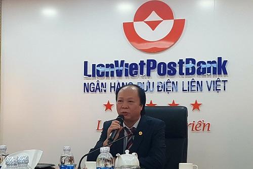 Ông Nguyễn Đình Thắng, Chủ tịch LienVietPostBank.