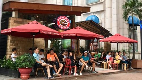 Highlands Coffee được đánh giá là chuỗi cà phê phổ biến nhất Việt Nam. Ảnh: Nikkei