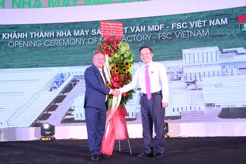 Tập đoàn Kim Tín vừa khánh thành nhà máy sản xuất ván MDF tại Bình Phước.