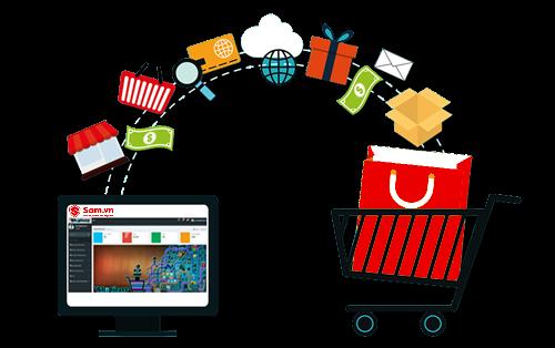 Mua hàng trực tuyến ngày càng phổ biến với người dùng Việt.