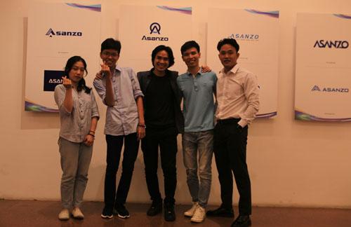 5 thí sinh xuất sắc tham dự chung kết Thiết kế logo Asanzo.
