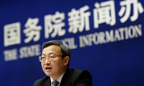 Thứ trưởng Thương mại Trung Quốc - Wang Shouwen. Ảnh: Reuters