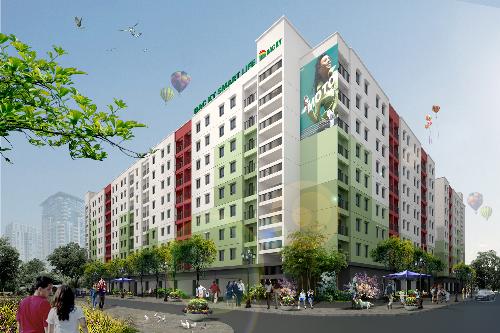 Dự án Nhà ở xã hội Bắc Kỳ là dự án đầu tiên trên địa bàn huyện Yên Phong, Bắc Ninh.