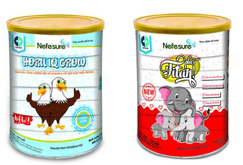 Hai dòng sản phẩm Nefesure Horu IQ Grow và Nefesure Titan Plus của IDPCORP