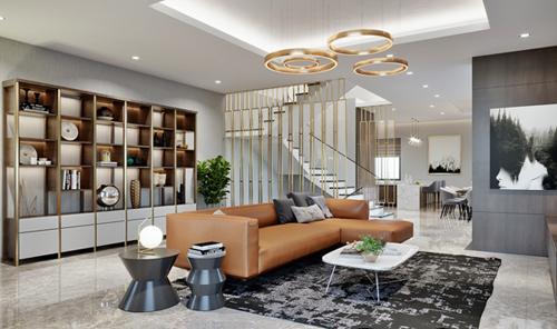 Tầng hai của shop villa là không gian sống riêng tư dành cho gia chủ với diện tích mặt sàn rộng từ 93 đến 108m2. Chủ sở hữu có thể sáng tạo không gian sống theo sở thích của mình.