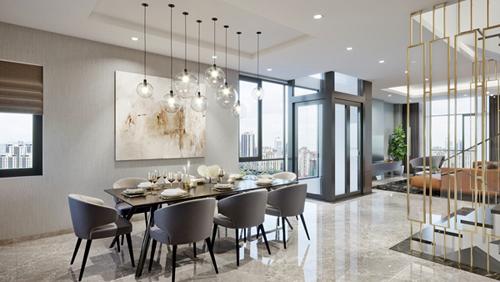Với lợi thế 3 mặt thoáng, tất cả phòng trong shop villa Imperia Garden đều có ánh sáng, gió trời và không khí lưu thông. Theo chủ đầu tư, đây là điểm khác biệt giúp biệt thự thương mại Imperia Garden thu hút nhà đầu tư.