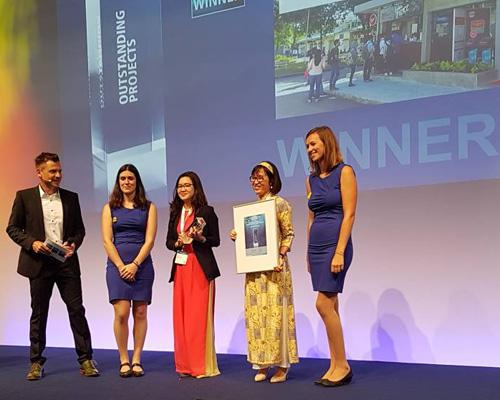 SolarBK nhận giải thưởng Dự án nổi bật của The Smarter E Award tại Intersdar 2018 (Đức)