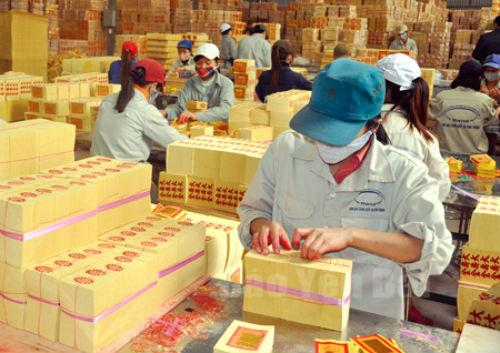 Hoạt động tại Công ty Lâm nông sản thực phẩm Yên Bái. Ảnh: Báo Yên Bái