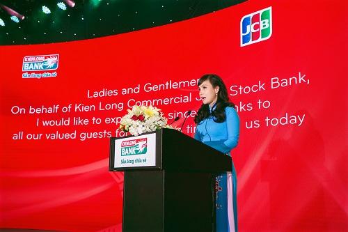 Bà Trần Tuấn Anh - thành viên HĐQT kiêm Tổng giám đốc Kienlongbank