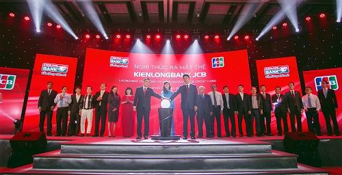 Nghi thức ra mắt thẻ tín dụng quốc tế Kienlongbank JCB