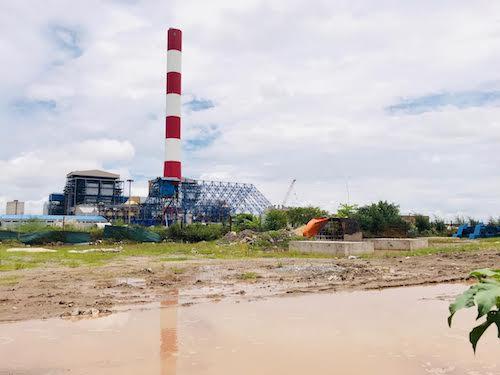 Dự án nhà máy Nhiệt điện Thái Bình 2 nằm trong Trung tâm điện lực Thái Bình (tỉnh Thái Bình). Ảnh: Hoài Thu