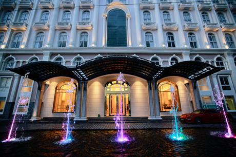 Sonata Residence có 200 căn hộ dịch vụ và 50 phòng khách sạn.