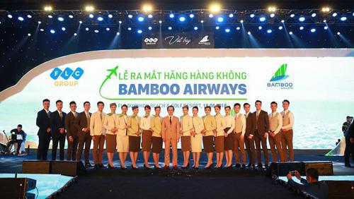 Bamboo Airways dự kiến cất cánh vào tháng 10.