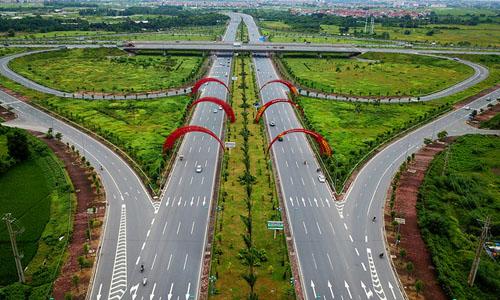 Tuyến đường Võ Nguyên Giáp là một trong những dự án nhận vốn vay ODA của Việt Nam. Ảnh: Bá Đô