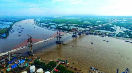 Dự án cầu Bạch Đằng mang ý nghĩa phát triển kinh tế tam giác Hà Nội - Hải Phòng - Quảng Ninh