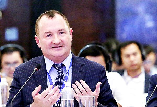 Ông Warrick Cleine - Chủ tịch kiêm CEO KPMG tại Việt Nam và Campuchia.