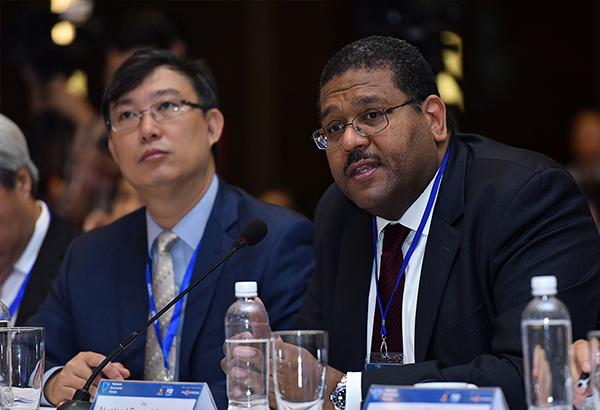 Ông Alwaleed Fareed Alatabani - Chuyên gia trưởng thị trường Tài chính Việt Nam của World Bank.