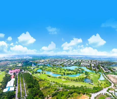 Cư dân Bien Hoa New City được thừa hưởng không gian sống trong lành từ lá phổi xanh của khu vực