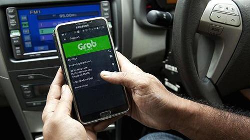 Grab vừa triển khai dịch vụ taxi quẹt thẻ cho các công ty, doanh nghiệp.