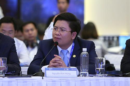 Ông Nguyễn Kim Hùng - Tổng giám đốc Công ty tái cấu trúc doanh nghiệp vừa và nhỏ VERCO.