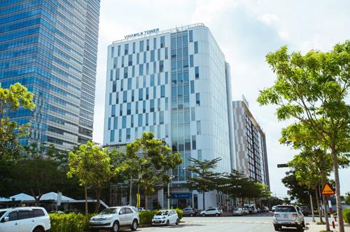 Trụ sở Công ty Vinamilk tại quận 7, TP HCM.