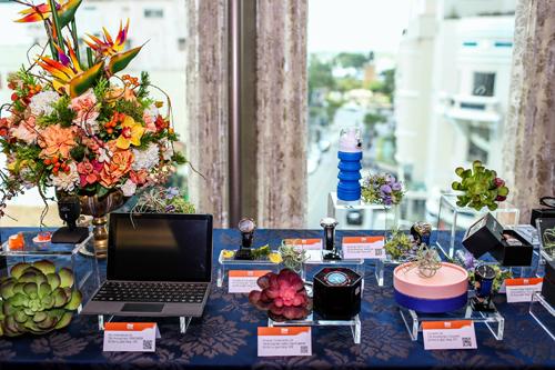 Một số sản phẩm dự kiến sẽ trưng bày tại triển lãm của In style. Hong Kong.