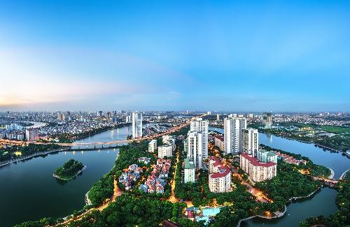 Lợi thế về cảnh quan thiên nhiên và môi trường sống tự nhiên giúp khu Nam Hoàng Mai có lợi thế cho phân khúc BĐS tầm trung phát triển.