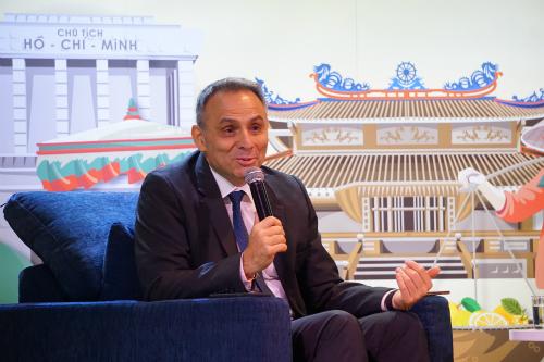 Ông Philippe Broianigo - Tổng giám đốc Central Group Việt Nam và Big C Việt Nam. Ảnh: Viễn Thông