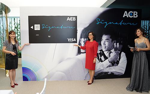 Sự kiện ra mắt thẻ tín dụng quốc tế cao cấp ACB Visa Signature.