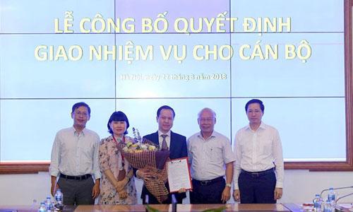 Ông Nguyễn Đăng Nguyên tại lễ công bố quyết định nhận nhiệm vụ Tổng giám đốc. Ảnh: MobiFone.