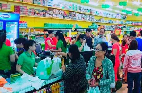 Cửa hàng Bách hoá xanh tại TP HCM.