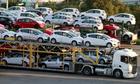 Ôtô nhập khẩu giảm còn một phần ba do tháng Ngâu