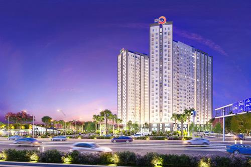 Dự án khu căn hộ thông minh ven sông Saigon Intela nằm ở mặt tiền đại lộ Nguyễn Văn Linh.