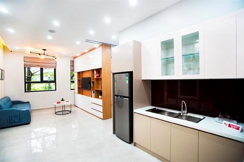 Saigon Intela có giá khoảng 1,2 tỷ đồng (gồm VAT) một căn hộ 2 phòng ngủ, 2 WC.