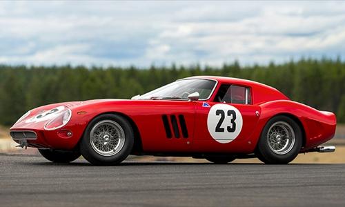 Chiếc Ferrari 250 GTO 1962 được đem đấu gia cuối tuần trước. Ảnh:RM Sothebys