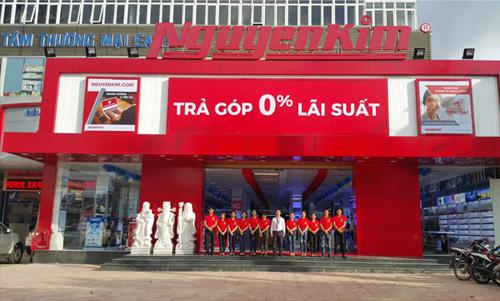 Nguyễn Kim là địa chỉ mua sắm tin cậy của nhiều gia đình.