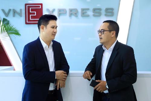 ông Phạm Văn Tam - Chủ tịch HĐQT Tập đoàn công nghệ Asanzo và ông Nguyễn Việt Đức - Tổng giám đốc Innovation Capital Management (ICM)
