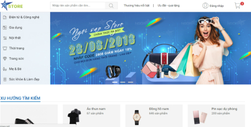 Store Ngôi Sao mang đến nhiều ưu đãi cho độc giả và người tiêu dùng trong dịp ra mắt. Thông tin liên hệ Store Ngôi Sao: Hotline: 1900633376. Email:store@ngoisao.net