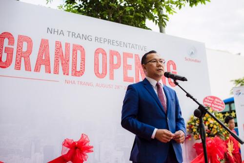 Ông Tạ Huy Vũ -Tổng giám đốc Schindler Việt Nam.