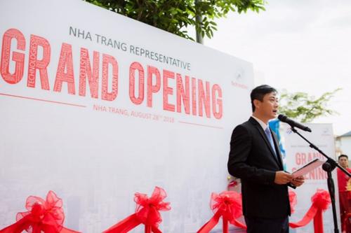 Ông Trần Cát Văn -Trưởng Văn phòng đại diệnSchindler Nha Trang.