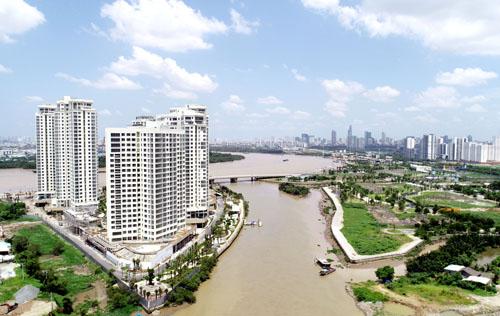 Canary tọa lạc tại vị trí mũi kim cương đắc địa, tất cả căn hộ đều có view sông.