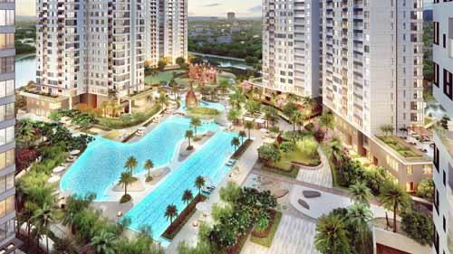 42 tiện ích sang trọng tại Diamond Island. Đăng ký tham quan thực tế tòa tháp Canary qua số 0938 480 888 hoặc website: www.diamondisland.com.vn