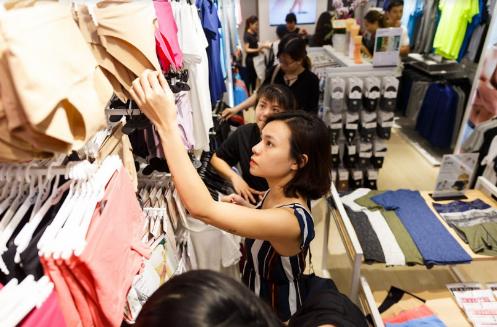 Thời trang đồ lót được đánh giá có mức độ sử dụng, thay đổi thường xuyên như ngành hàng tiêu dùng nhanh.