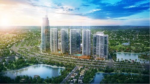 Eco Green Saigon được kết hợp giữa 2 yếu tố Eco sinh thái xanh và City thành phố hiện đại.