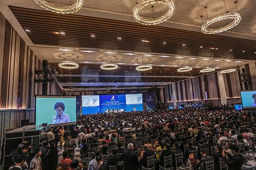 Hội nghị Thượng đỉnh Kinh doanh Việt Nam (VBS) tại Đà Nẵng năm ngoái. Ảnh: Nguyễn Đông